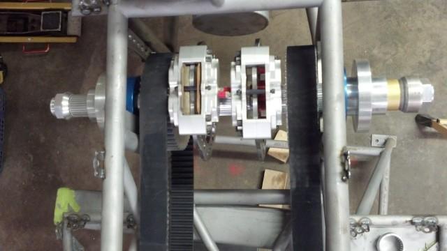 liner rear axle